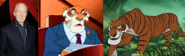 Charles Dance as Shere Kahn by BlackBatFan