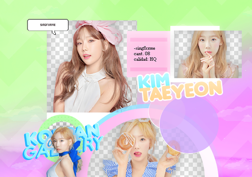 TAEYEON | PACK PNG by KoreanGallery