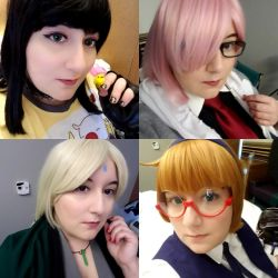 Anime Central '18 selfies by Azure-Rose-Cosplay