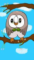 Rowlet by albie83