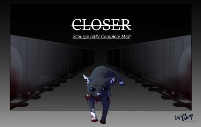 CLOSER|SCOURGE - complete map (w/ signature) by LupineIndigo