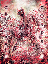 Screenprint: Cannibal Corpse by milestsang