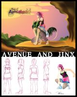 AVENUE and Jinx by against-the-law