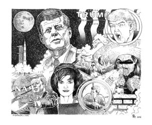 K. and Marc Gosselin 2016 - Trump's JFK murder by Keneru92