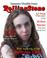 Rolling Stone Mag Cover 2 by BrittanysDesigns