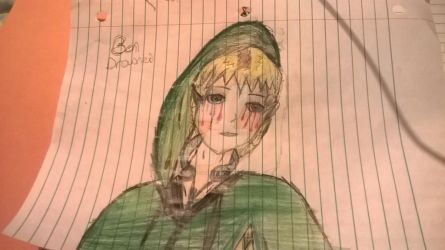 Ben Drowned (Not my best so far) by TicciTrac1e