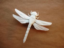 New Dragonfly by origami-artist-galen