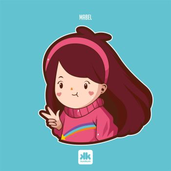 Mabel Fan art by kum---kum