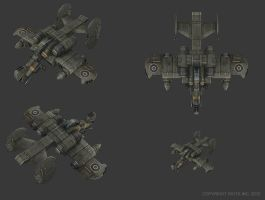 Sky Corsair - Assault Shuttle by smurfbizkit