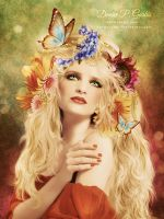 Flower Child - Revised 2012 by DeniseGarbis