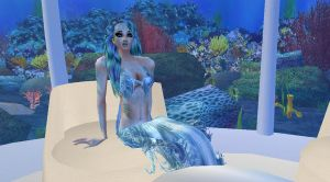 New sense bonus pic - mermaid 7 by Worldoftg