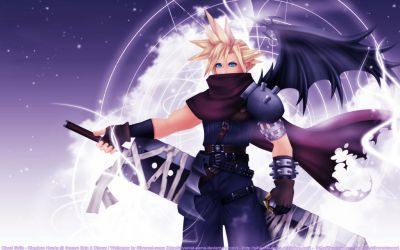 KH - Cloud Strife by SilverCat-sama