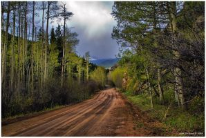 Country Road Thunderstorms by kkart