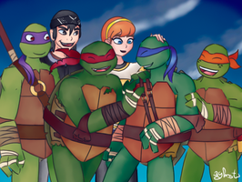 TMNT - Screencap Redraw by 3ghosts