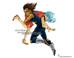 DBZ - Vegeta/Bulma - Let's go Home, Onna -2- by RedViolett