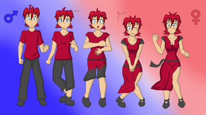Nico Transformation Sequence by TheMaskofaFox