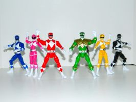 Mighty Morphin Power Rangers 2 by LinearRanger