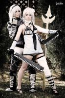 Kaine and Nier - NieR Replicant Cosplay by LauraNikoPhantomhive