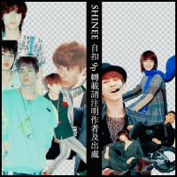 PNG SHINEE BY JUDY.H by judy2H
