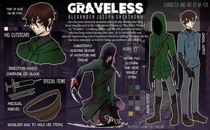 creepypasta oc - graveless UPDATE by AK-47x