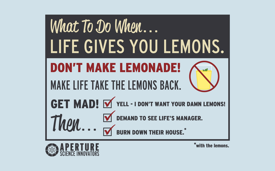 When Life Gives You Lemons by KittenKreationsTampa