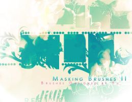 Masking Brushes 2 by yu-resource