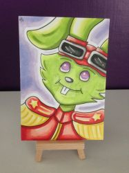 Bucky O'Hare sketch marker card by kirstyhannam