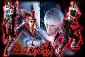 Devil May Cry Wallpaper by FP-F-A-LL
