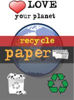 Recycle: paper by M0lybdenum