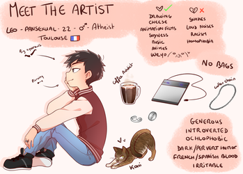 MeetTheArtist meme by Kyovan