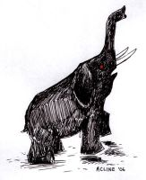 Elephant doodle by soliton