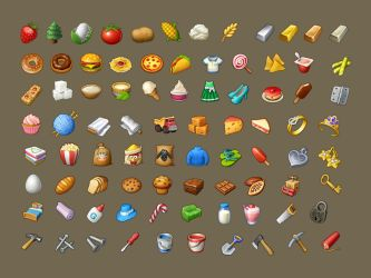 Township Icons 01 by roma-n