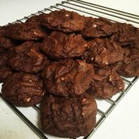 Double Chocolate Chip Cookies by SilverDragon2050