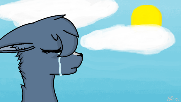 Bluestar's Tears by LilyArtist11