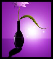 Vase and Bugs by Tamilia