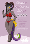 CLOSED Voodoo Custom Ambrivan Adopt by iLantiis