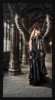 Gothic angel by Bergkristalle