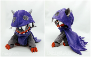 Hackmon Plush by d215lab