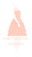 MMD - Frilly Pink Dress Download + UPDATE by charlotte-rosewater