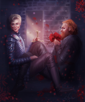 Tormund gets romantic by SandraWinther