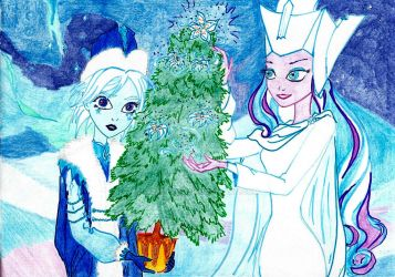 Ever After High. January flowers by Wladlena