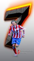 Forlan Wallpaper movil by InfiernoRojiblanco