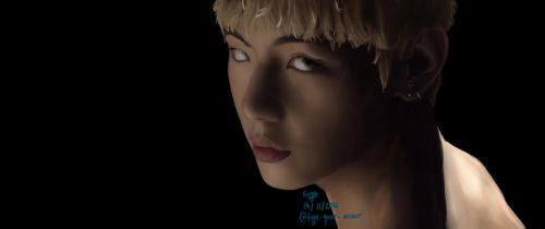 BTS V Blood sweat and tears by type-your-answer