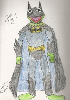 I AM THE SWAMP I AM BATFROG by jrartist1229