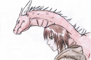 Murtagh and Thorn by AoiKita