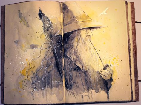 Gandalf by Kinko-White