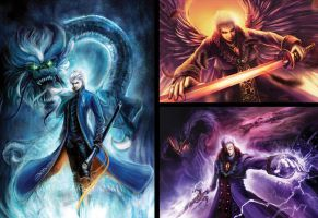 Devil May Cry -- Artwork for CF 2012 / 2015 -- by skian-winterfyre