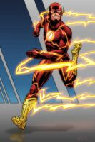 The Flash Colors by Brian-Robertson