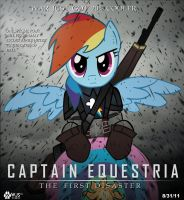 Captain Equestria by wolfjedisamuel
