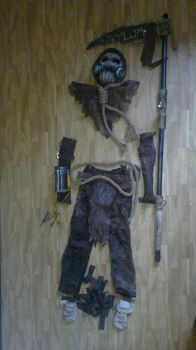 Scarecrow cosplay overview by HIPPOPOTOMONSTROSES1